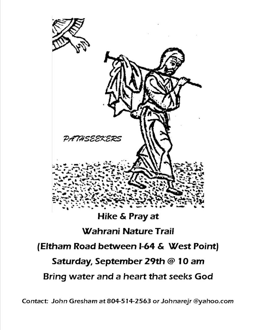 Pathseekers Wahrani Hike Flyer